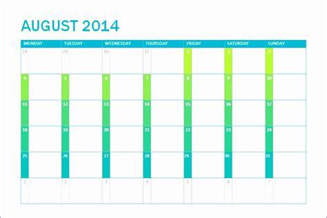 excel monthly calendar template 2014 6 excel calendar template 2014 exceltemplates