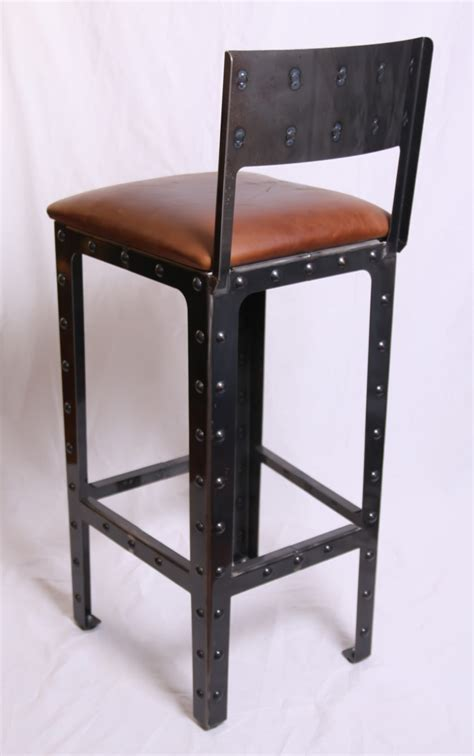 Industrial Style Bar Stool Furniture Inspiring Industrial Style Bar Stools Tommay Design