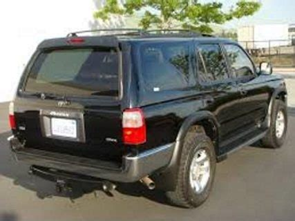 99 Toyota 4runner Toyota 4runner Questions Will Exterior Parts From A 99