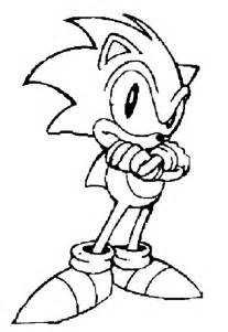fun coloring pages sonic the hedgehog coloring pages