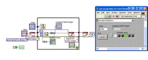 digital pattern generator labview solved generate binary sequence with ni usb 6008