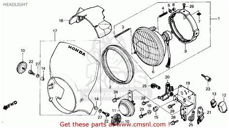electrical wiring diagrams 1982 honda express nc50 1982