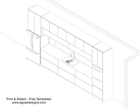 interior modern kitchen   model