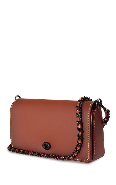 Coach Dinky Bag dinky burnished glovetanned leather cross bag coach