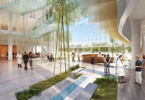 Interior Design In British Columbia University samsung international hospital nbbj