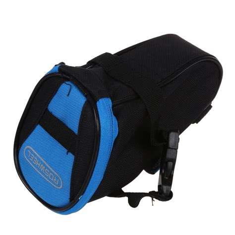 bicycle waterproofs waterproof bike saddle back rear seat bag black blue ebay