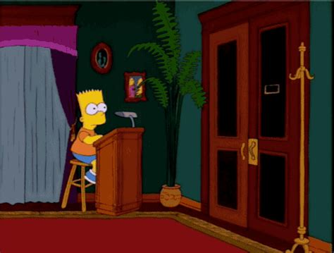 Nope Meme Gif - bart simpson gifs find share on giphy