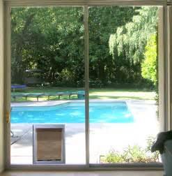 Sliding Glass Dog Door Pet Doors From The Sliding Door Company Campbell Ca