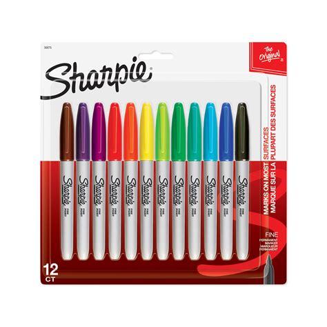 sharpie marker colors sanford 30075 markers sharpie point permanent 12