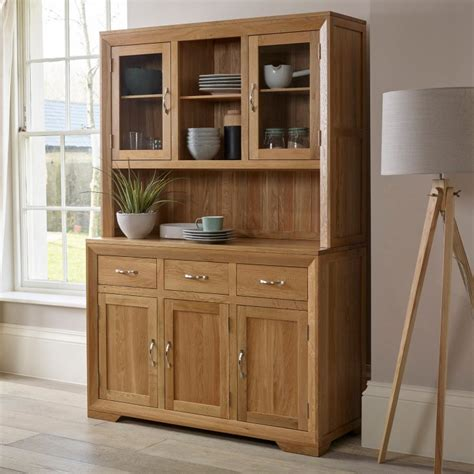 Country Manor House 5707 by Bevel Large Dresser In Solid Oak Oak Furniture Land