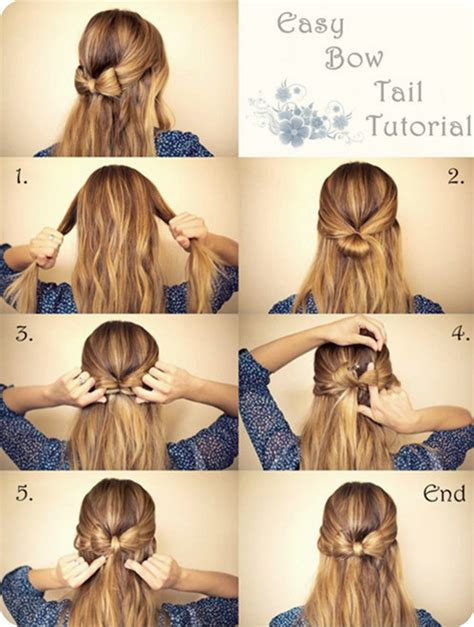 hairstyles how to do a bow 5 diy hair bow ideas and creations collection vpfashion