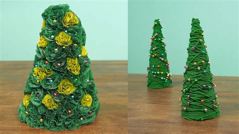 2 miniature christmas tree caft diy projects youtube