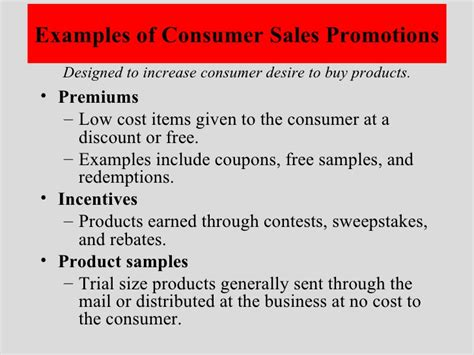 Sweepstakes Sales Promotion - 11 2 marketing a small business personal sales promotion presentation