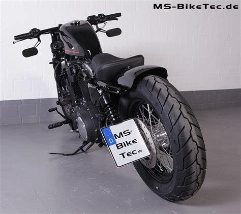 Motorrad Spiegel Am Lenker by Spiegel Quot Loop Quot Schwarz F 252 R Harley 174 V Rod 174 Sportster