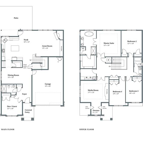 arbor homes floor plans concord floor plans bethany or arbor homes