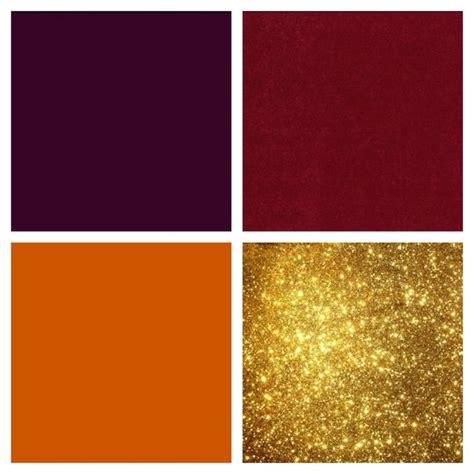 gold and gray color scheme eggplant cranberry burnt orange and gold color scheme