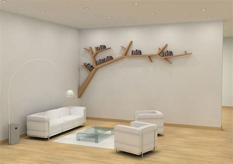 furniture 15 creative and clever tree branch bookshelf