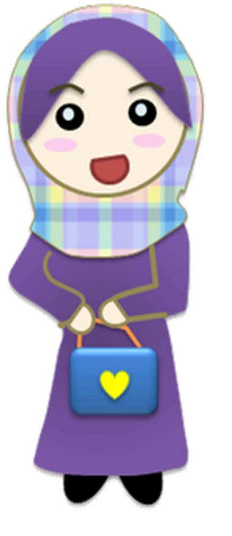 doodle kartun doodle gambar kartun muslimah terbaru 2012 gambar