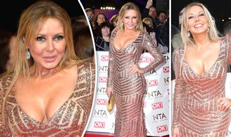 carol vorderman wardrobe malfunctions ntas 2017 carol vorderman in eye popping gold gown