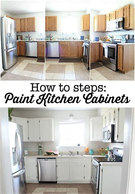steps to painting kitchen cabinets diy home improvement projects refresh restyle