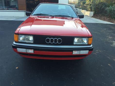1986 audi gt coupe low low 76k miles rare great condition 1986 audi coupe gt german cars for sale blog