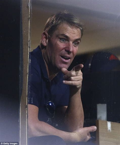 tv swing porn shane warne busted at party where he starred in live s m