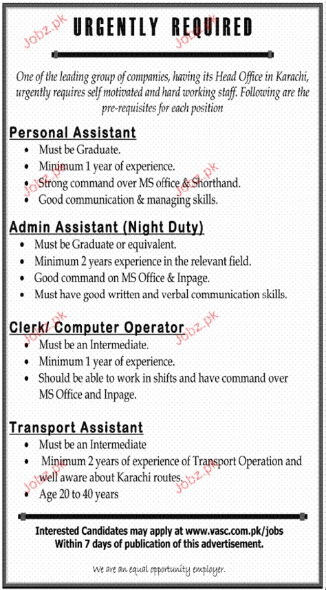 Resume Job Duties Examples by Personal Assistant Admin Assistant Job Opportunity 2017