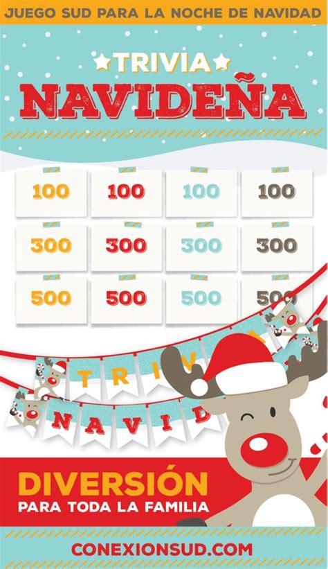 preguntas juego familia navidad and trivia on pinterest