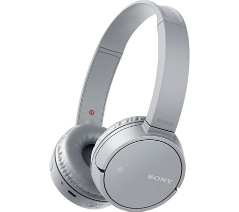 sony mdr zxbth wireless bluetooth headphones silver deals pc world