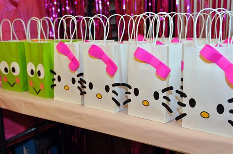 Hello Kitty Birthday Giveaways - goody bags on pinterest goody bags goodie bags and party bags