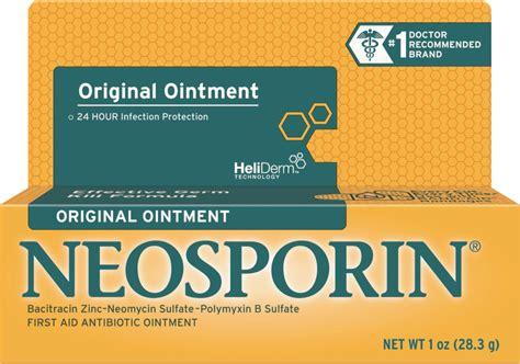 neosporin on antibiotic ointment neosporin 174 original