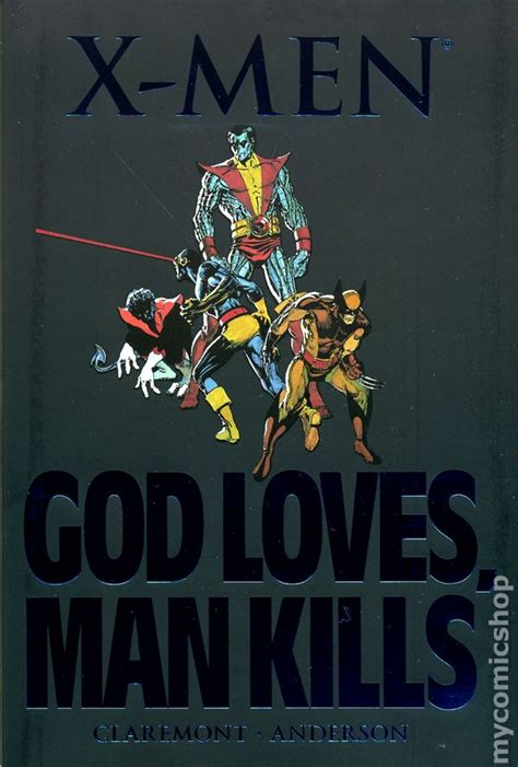 x men god loves man x men god loves man kills hc 2007 marvel comic books