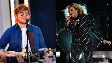 ed sheeran perfect new duet hear ed sheeran beyonce duet on new perfect remix