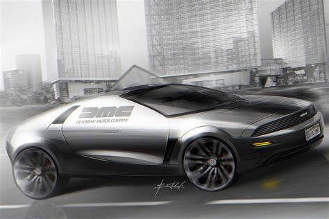 Delorean Dmc 12 Concept by Dmc21 La Delorean Dmc 12 Du Futur Imaginee