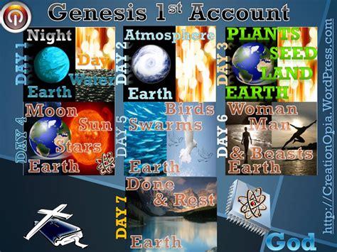 creation of genesis bible genesis creation account universe tools paradigm