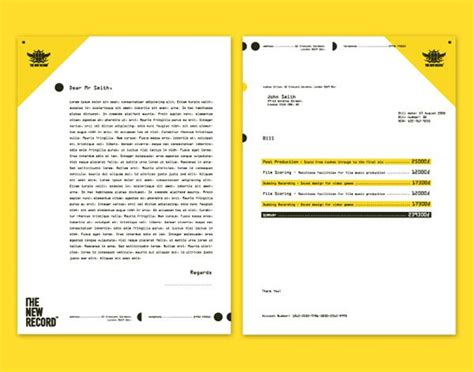 cool letterhead templates 1000 ideas about letterhead design on