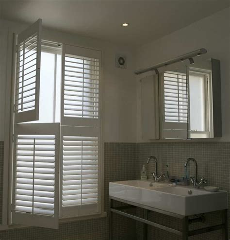 bathroom shutters interior bathroom plantation shutters wooden bathroom window