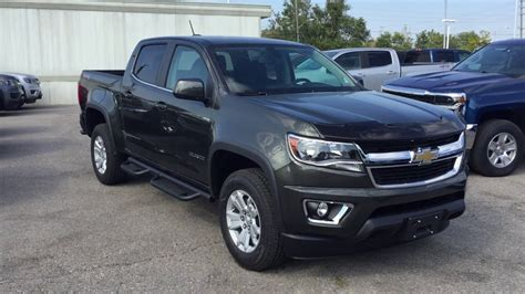 chevy colorado green 2018 chevrolet colorado 4wd lt wood green metallic