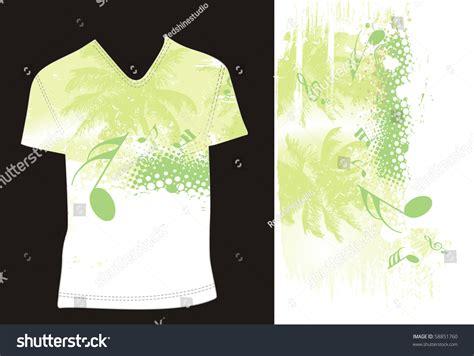 tshirt design template editable vector illustration stock