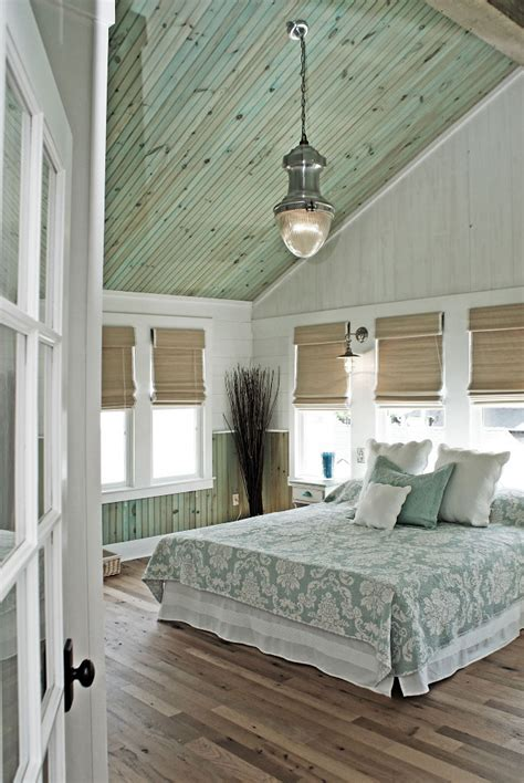 here in my bedroom renovated beach house with rustic coastal interiors home