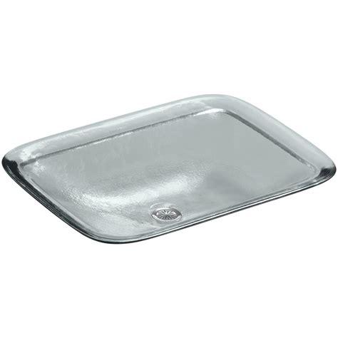 home depot drop in bathroom sinks kohler inia 20 5 8 in drop in bathroom sink in ice k 2773