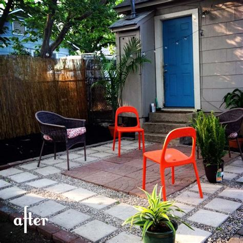 simple one day diy patio outdoors