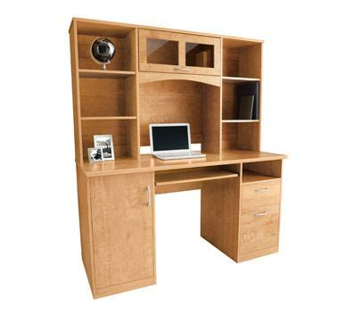 Landon Desk With Hutch Cherry An Option For My Home Quot Office Quot Desk Landon Desk With Hutch Oak My Home Pinterest Desk