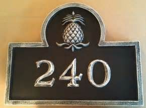 address number plaque house numbers boston by