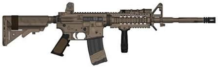 balleworn m4 carbine by shockwave9001 on deviantart