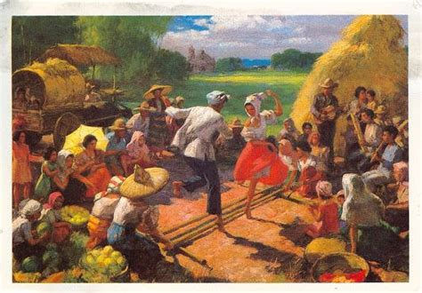 angelus paint philippines painter fernando amorsolo s tinikling the