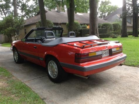 old car owners manuals 1986 ford mustang security system 1986 ford mustang gt convertible original 2 owner for sale ford mustang 1986 for sale in