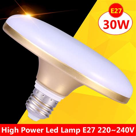 High Power Led Light Bulbs High Power Led L E27 20w 30w 220v Light Bulb Focos