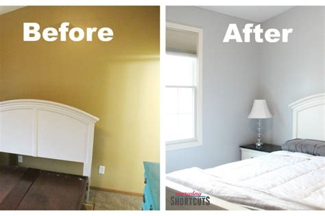 master bedroom makeover with hgtv home by sherwin williams paint everyday shortcuts