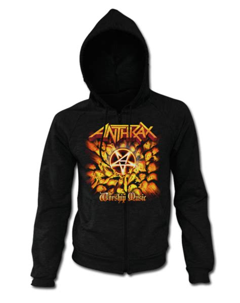 Hoodie Wor Ship Is A Lifestyle apparel anthrax store